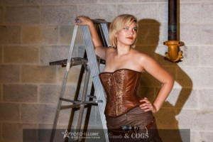 Dystopia Collection Steampunk Corset
